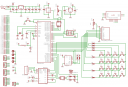 AVR Developing Board Schematic